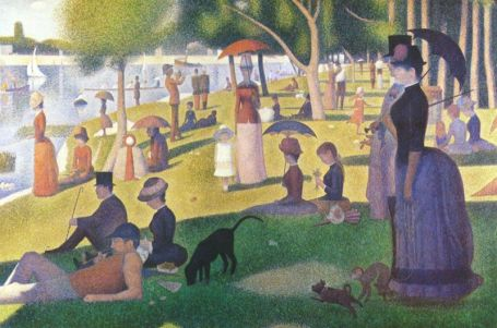 Georges Seurat - A Sunday Afternoon on the Island of la Grande Jatte - 1884