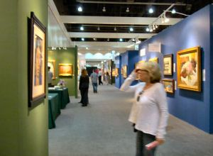 2011 LA Art Show, photo by Barbara J Carter