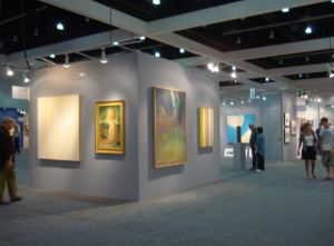 LA Art Show photo by Barbara J Carter