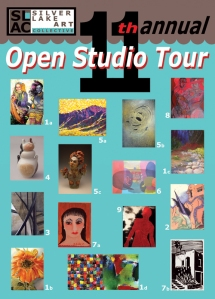 SLAC 2011 Open Studio Tour postcard