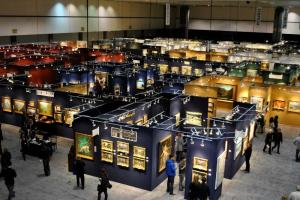 2012 Los Angeles Fine Art Fair - aerial view