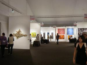 2012 Los Angeles Affordable Art Fair booths