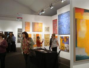 Cicada Gallery at 2012 Los Angeles Affordable Art Fair