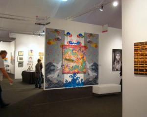 Accola Griefen Gallery at the 2012 Los Angeles Affordable Art Fair