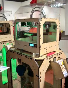 Replicator by MakerBot at 2012 Los Angeles Affordable Art Fair