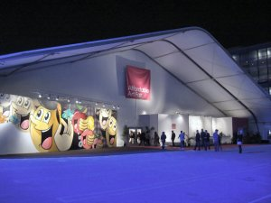 2012 Affordable Art Fair entrance, photo by Barbara J Carter