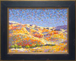"""Hills"" painting by Barbara J Carter"