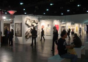 2013 LA Art Show, contemporary section, photo by Barbara J Carter